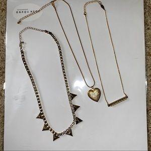 Set of 3 necklaces FREE IF BUNDLED W/ CLOTHING